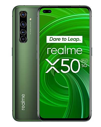 MOVIL Smartphone realme X50 PRO 8GB 256GB 5G grün (Moss Green)