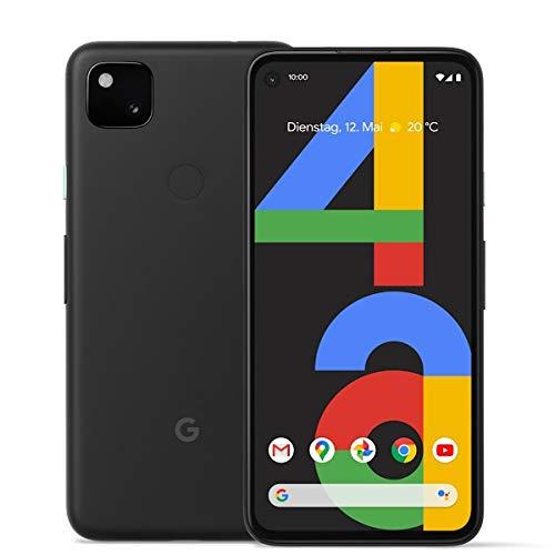 Google Pixel 4A 128 GB Just Black Dual SIM ohne Simlock, ohne Branding