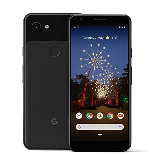 Google Pixel 3A 64GB Smartphone Android 9.0 (3A, Just Black) (Generalüberholt)
