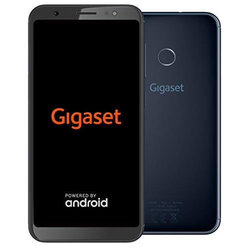 Gigaset GS185 Smartphone ohne Vertrag (13,97 cm (5,5 Zoll) HD+ Display, 16GB Speicher, Android 8.1) midnight blue
