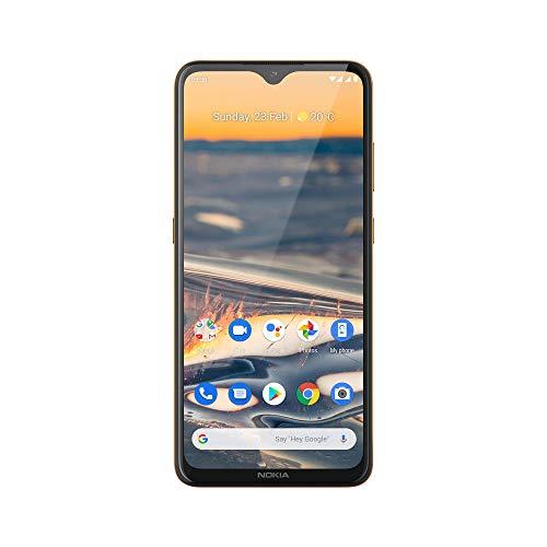 Nokia 5.3 Smartphone - Deutsche Ware (16,3cm (6.55 Zoll), 64GB interner Speicher, 4GB RAM, Dual Sim), Sand