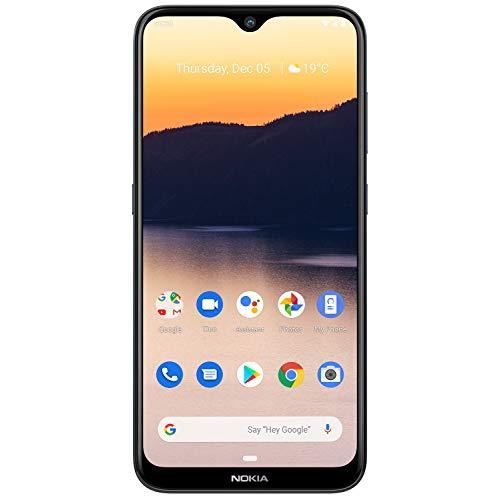 Nokia 2.3 Dual SIM Smartphone 6,2 Zoll (15,7 cm), 32GB Interner Speicher, 2 GB LPDDR 4 RAM, 13 MP Hauptkamera, 5 MP Frontkamera, Android 9, Schwarz