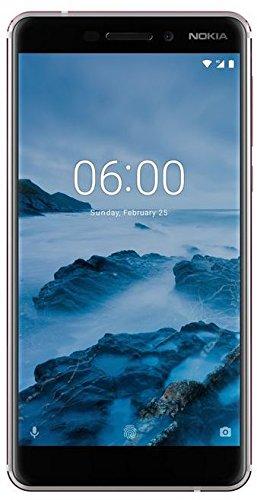 Nokia 6.1 Smartphone (13,97 cm (5,5 Zoll), FHD IPS Display, 32 GB interner Speicher und 3 GB RAM, Dual-SIM, Android 8.0 (Oreo)) weiß