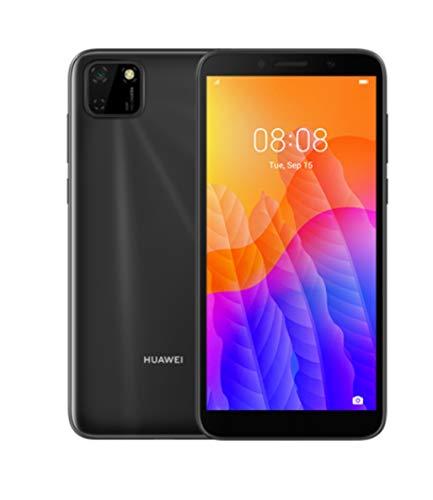 HUAWEI Y5P Dual SIM Smartphone (13,84 cm - 5.45 Zoll, 32 GB interner Speicher, 2 GB RAM, Android 10 AOSP ohne Google Play Store, EMUI 10.1.) Midnight Black