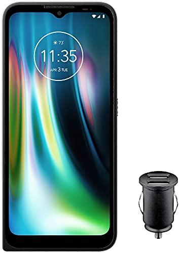 """Motorola Defy Outdoor Smartphone (6,5"""" kratzfestes HD+ Display, 48MP Quad-Kamera , Android 10 (Upgrade auf 11), 5000mAh, 4/64GB, wasserdicht und sturzsicher, MIL SPEC 810H) schwarz inkl. Kfz-Adapter"""