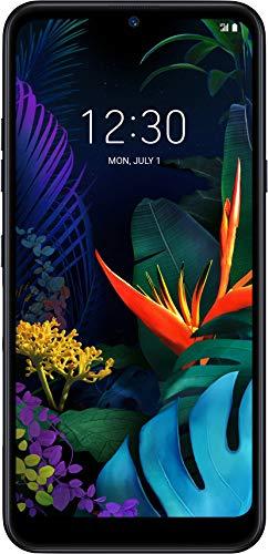 LG K50 Smartphone (15, 9 cm (6, 26 Zoll) IPS-LC-Display, 32 GB interner Speicher, 3 GB RAM, MIL-STD-810G, Android 9.0) Aurora Black