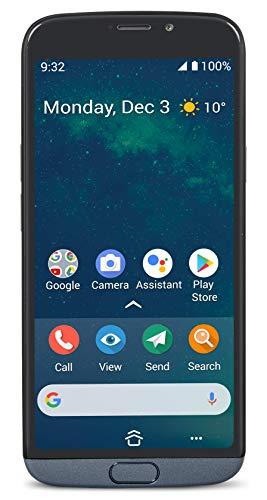 Doro 8050 Smartphone 4G für Senior mit 5.7 Zoll Display, 13 MP Kamera, GPS Lokalisierung und Ladestation, grau