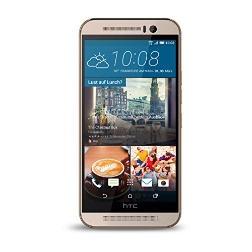 HTC 99HAHU025-00 One M9 Prime Smartphone (Kamera Edition) Gold on Silber