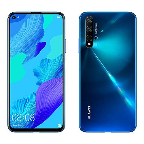 HUAWEI Nova 5T (Crush Blue) ohne Simlock, ohne Branding, Blau