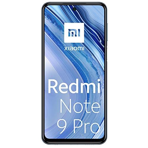 Xiaomi Redmi Note 9 Pro Smartphone 6GB RAM 128GB ROM 6.67' DotDisplay 64MP AI Quad Camera 5020mAh (typ)* NFC Interstellar Gray [Globale Version]