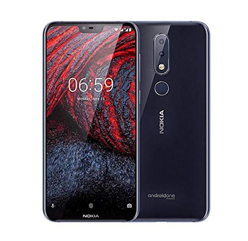 Nokia 6.1 Plus Dual SIM 64GB 4GB RAM Schwarz SIM Free