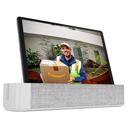 Lenovo Smart Tab M10 HD Plus mit Amazon Alexa 25,5 cm (10,1 Zoll, 1280x800, HD, WideView, Touch) Tablet-PC (MediaTek Helio P22T, 4GB RAM, 64GB eMCP, Wi-Fi, Android 10) silber mit Smart Dock