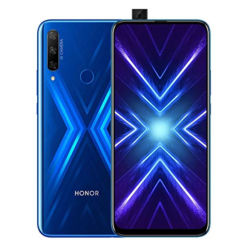 HONOR 9X Smartphone 4GB RAM 128GB 6.59' FHD,Android 9.0 Handy,48MP Triple AI Rückfahrkamera, 16MP Selfie-Frontkamera, 4000mAh Dual SIM, Blau