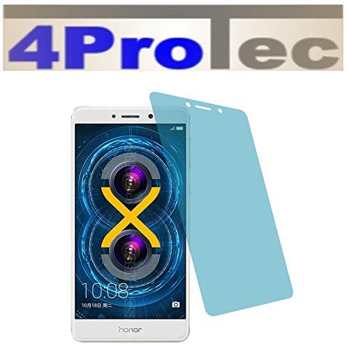 4ProTec I 2X EXTREM Harte CC Displayschutzfolie EXTREM Harte für Huawei Honor 6X Bildschirmschutzfolie Schutzhülle Displayschutz Displayfolie Folie