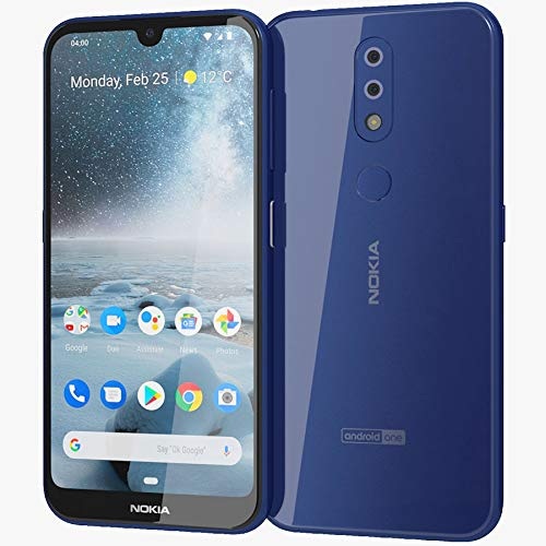 Nokia 4.2 Dual SIM Smartphone - (14,5 cm (5.71 Zoll), 13 MP Hauptkamera, 3GB RAM, 32 GB interner Speicher, Android 9 Pie) Blau