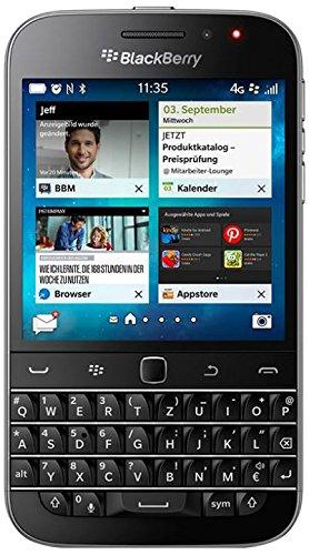 BlackBerry Classic Smartphone (3,5 Zoll (8,9 cm) Touch-Display, 16 GB Speicher, Blackberry 10.3.1 OS) schwarz