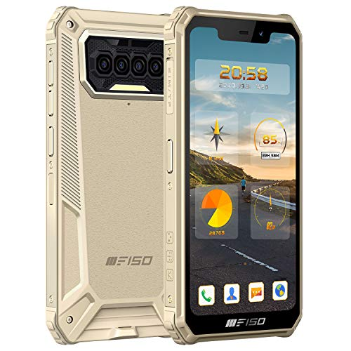 Outdoor Smartphone IIIF150 B2021 IP68 Militaer Ohne Vertrag, 8000mAh Akku 5.86'' HD Dreifache Kamera, Octa-Core 6GB+64GB, 4G Dual SIM Android10 Outdoor Handy mit Gesichts und Fingerprint ID, GPS NFC