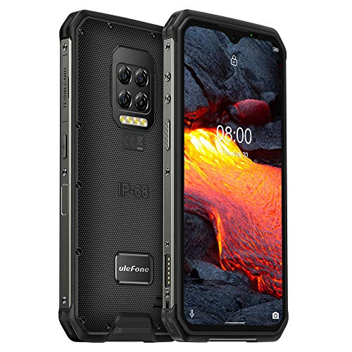 Ulefone Armor 9E Outdoor Handy, 64MP Rückfahrkamera, Android 10 Robustes Smartphone Ohne Vertrag IP68/IP69K, Helio P90 Octa-Core 8GB RAM 128GB, 6,3'' FHD +, NFC, GPS DUAL SIM Gesichtsentriegelung