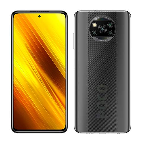 Xiaomi Poco X3 NFC - Smartphone 128GB, 6GB RAM, Dual Sim, Shadow Gray [Globale Version]