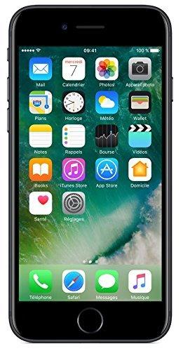 Apple iPhone 7 128GB - Schwarz - Entriegelte (Generalüberholt)