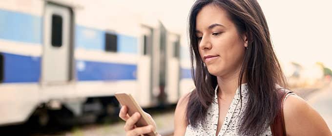 Neue App der Bahn warnt vor vollen Zügen