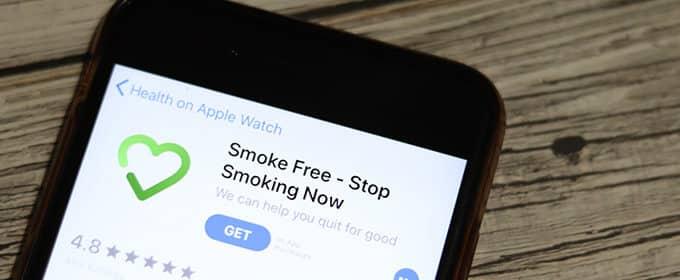 Apps für Raucher, die zum Nichtraucher werden wollen