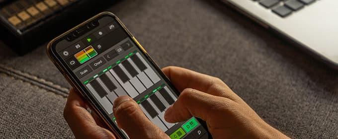 Mit dem Smartphone Musik machen - wenn das Telefon zum Instrument wird