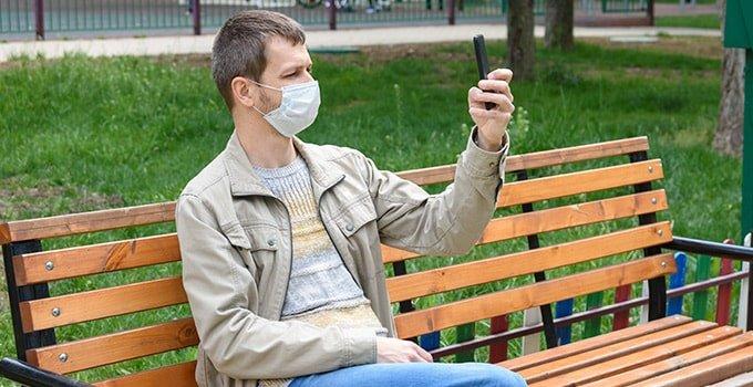 Wie klappt die Face ID trotz Mundschutz?